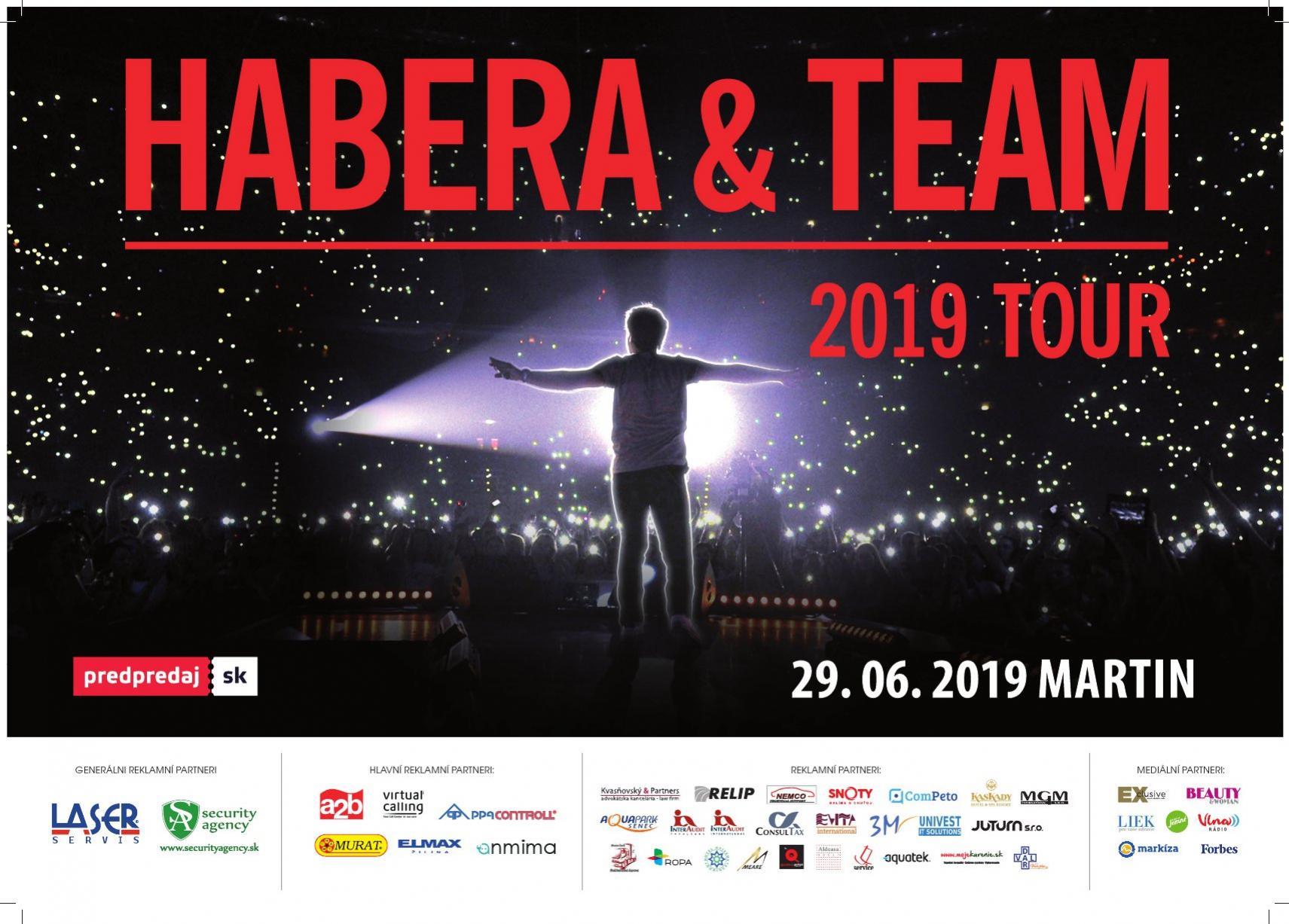 Habera a Team Tour 2019 Martin Ružomberok Dolný Kubín