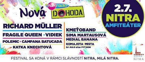 94a52cec5d Prvý letný žúr bude 25. júna! Vo všetkých mestách vystúpia najväčšie  hviezdy slovenskej a českej hudobnej scény