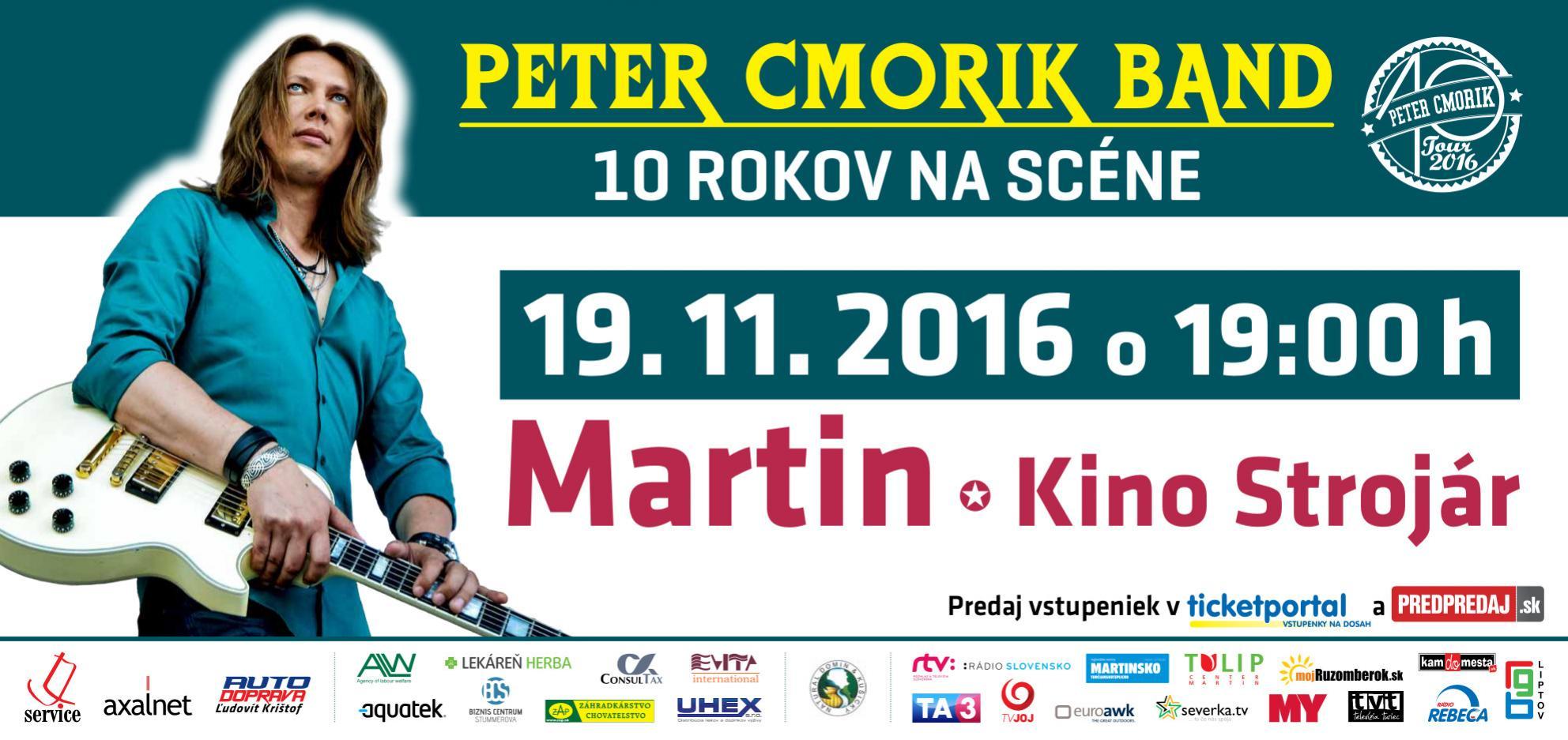 Peter Cmorik Band 10 rokov na scéne 6ebfa87b099